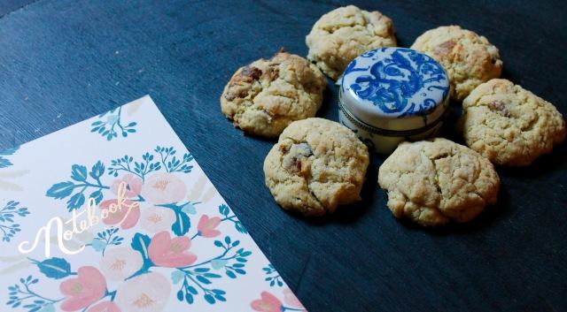 Cookies aux dattes et aux noix