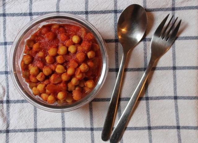 Curry de pois chiches aux épices