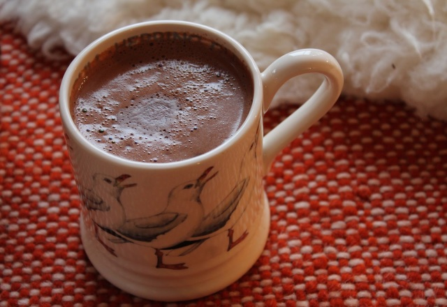 Chocolat chaud maison régressif